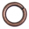 Jump Ring 4-50g Antique Copper 4.5mm ID/7mm OD